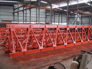大跨度管桁架加工制作