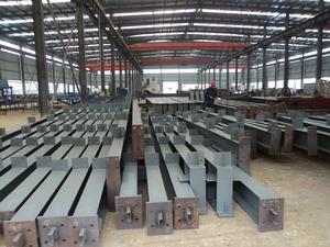 钢结构厂房H型钢制造